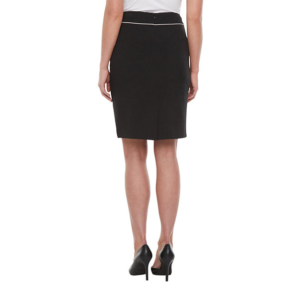 Black Label by Evan-Picone Suit Skirt