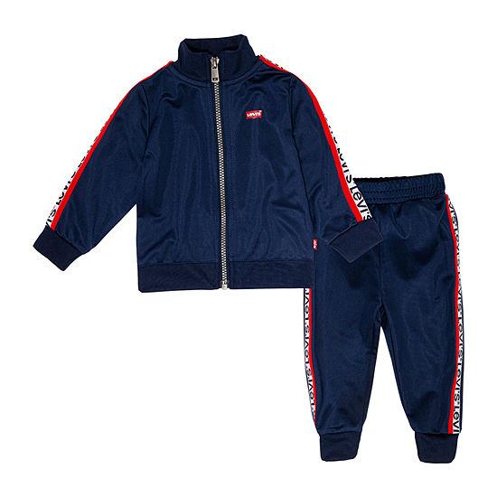 Levi's Baby Boys 2-pc. Logo Track Suit