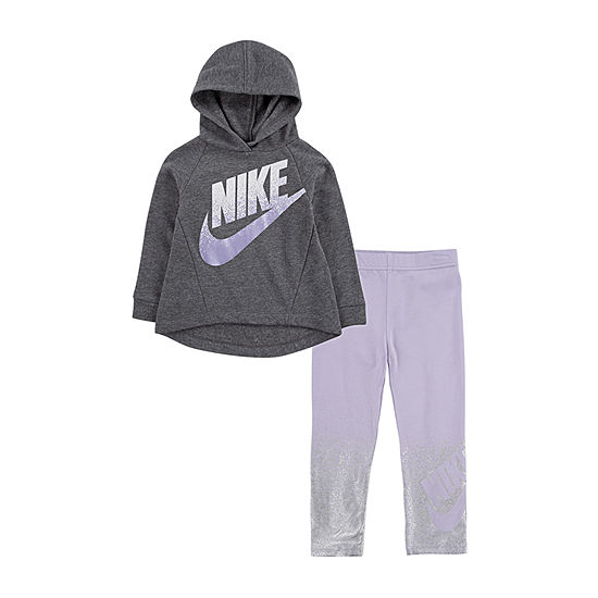 Nike Girls 2-pc. Logo Pant Set Preschool