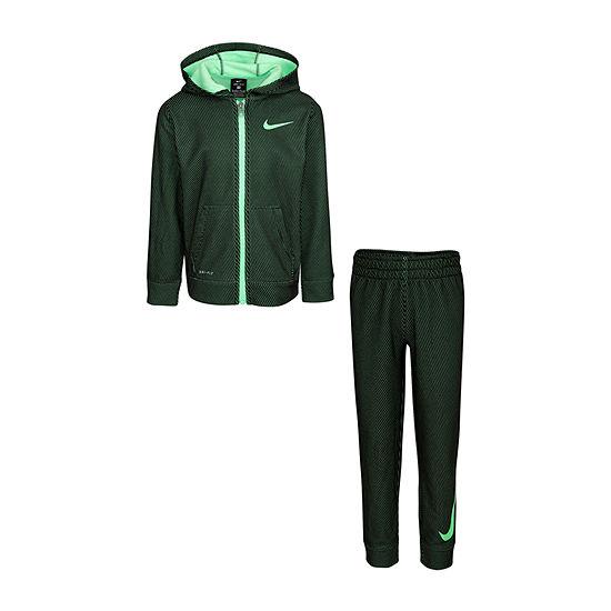 Nike Boys 2-pc. Logo Pant Set Preschool