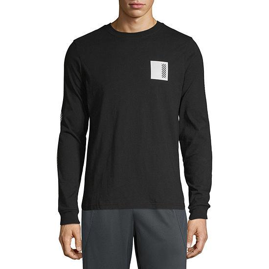 Xersion Mens Crew Neck Long Sleeve T-Shirt