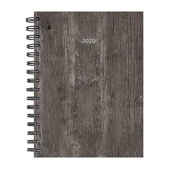 Tf Publishing 2020 Woodgrain Medium Weekly Monthly Planner
