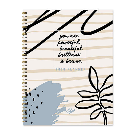 Tf Publishing 2020 Power & Beauty Large Weekly Monthly Planner