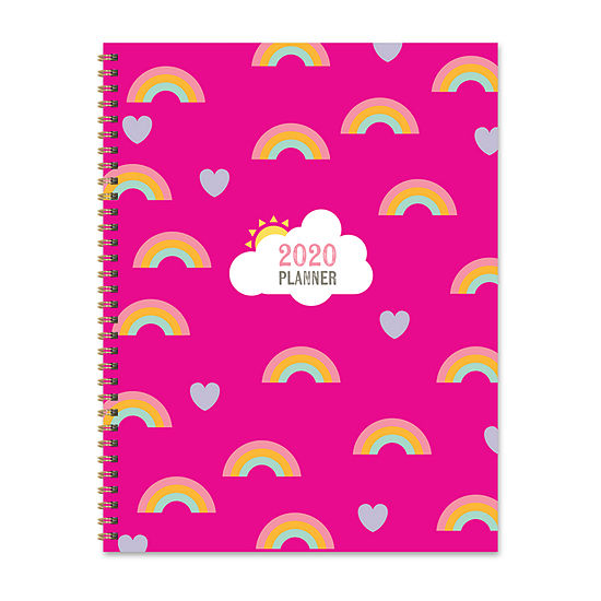 Tf Publishing 2020 Love Rainbows Large Weekly Monthly Planner