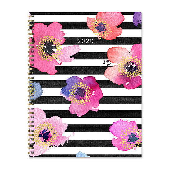Tf Publishing 2020 Petal Stripes Large Weekly Monthly Planner