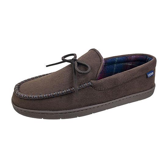 IZOD Moccasin Slippers