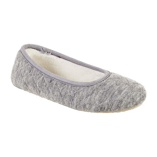 Isotoner Microsuede Womens Bootie Slippers