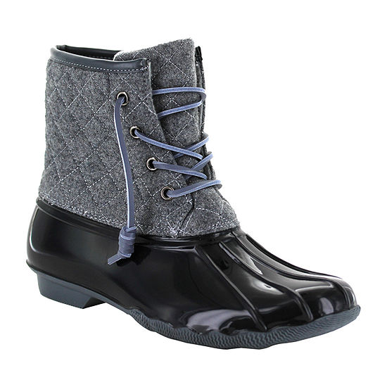 Seven 7 Womens Gooseboot Flat Heel Snow Boots