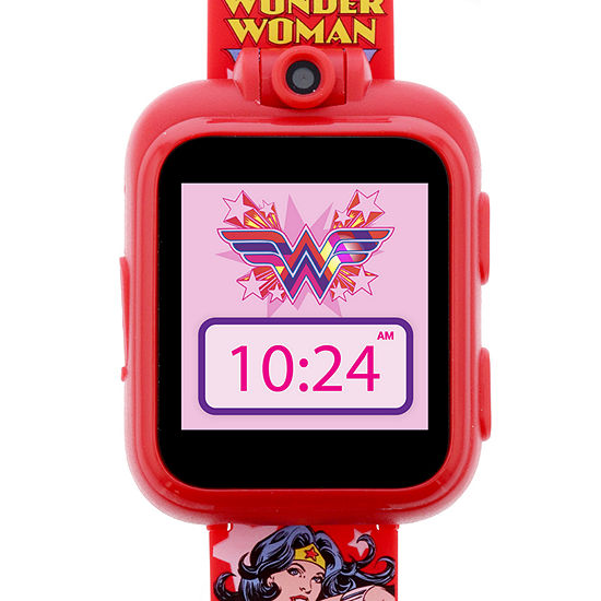 Itouch Playzoom DC Comics Unisex Red Smart Watch-100038m-2-51-F15