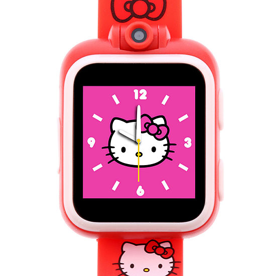 Itouch Playzoom Hello Kitty Unisex Red Smart Watch-100028m-2-51-R01