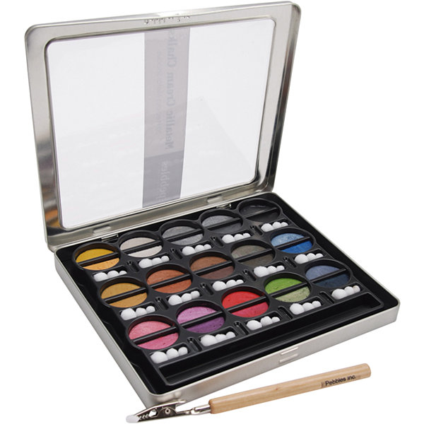 I Kan'dee Metallics Chalk Set