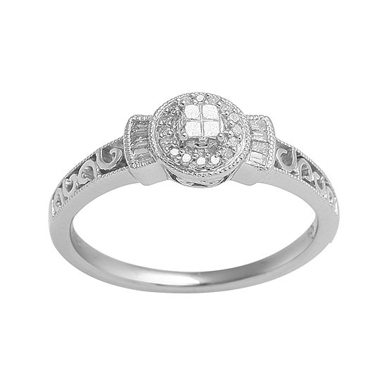 1/6 CT. T.W. Diamond Ring
