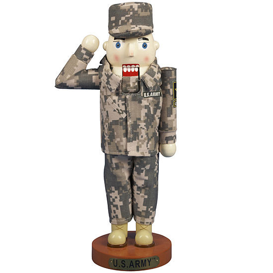 "Kurt Adler 12"" U.S. Army™ Soldier Nutcracker"