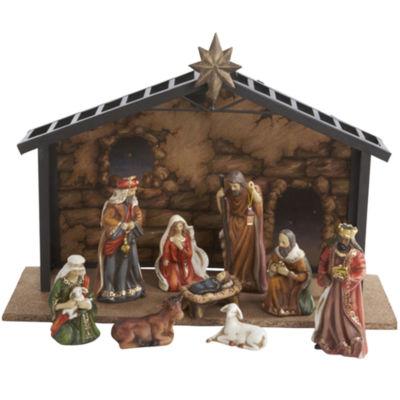 Kurt Adler 10-pc. Porcelain Nativity Set