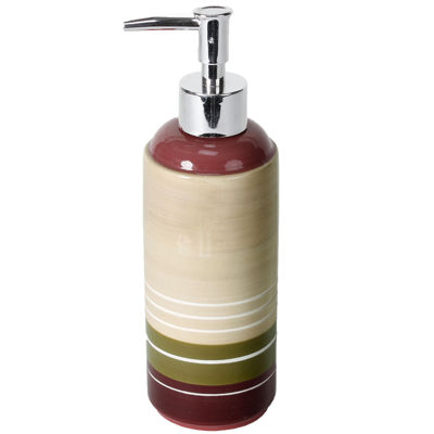 Madison Stripe Soap Dispenser