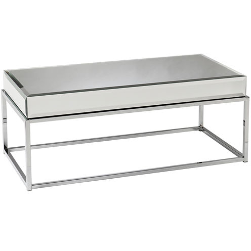 Emma Mirrored Coffee Table