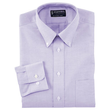 Stafford easy care oxford dress shirt big tall for Stafford big and tall shirts