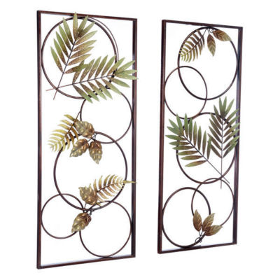 Recife Set Of 2 Metal Wall Art