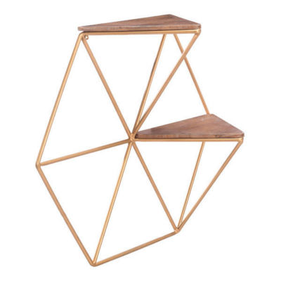 Triangles Wall Shelf