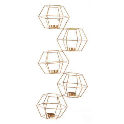Dimensional Wall Candle Holder Set
