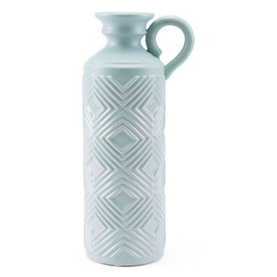 Herringbone Decorative Bottle
