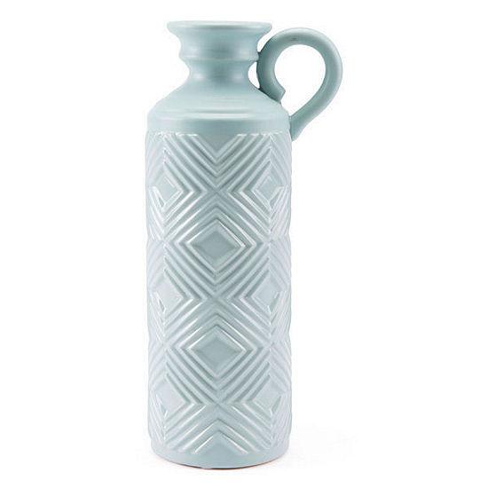 Herringbone Decorative Bottle
