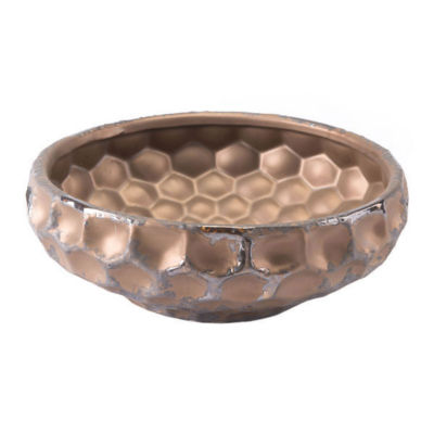 Hammered Decorative Bowl