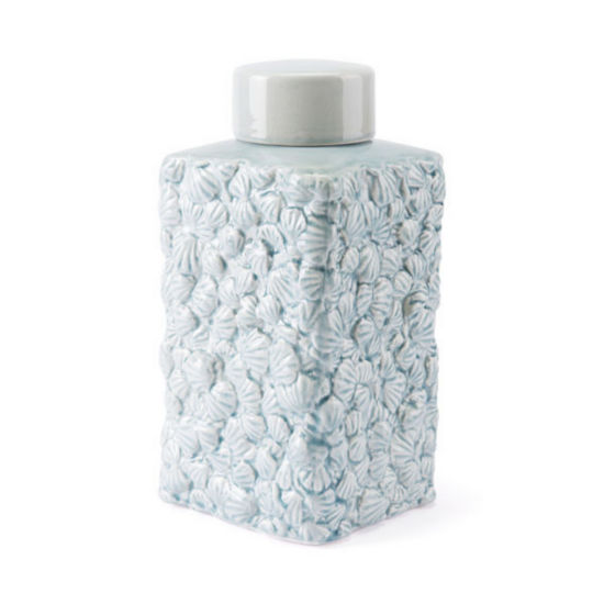 Shells Covered Decorative Jar