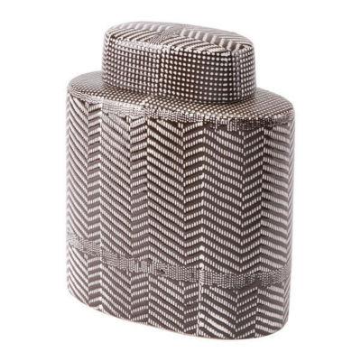Tribu Covered Decorative Jar