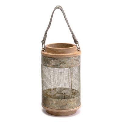 Wood Decorative Lantern