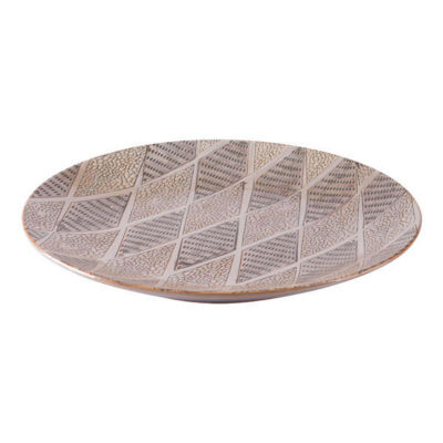 Ikat Decorative Plate