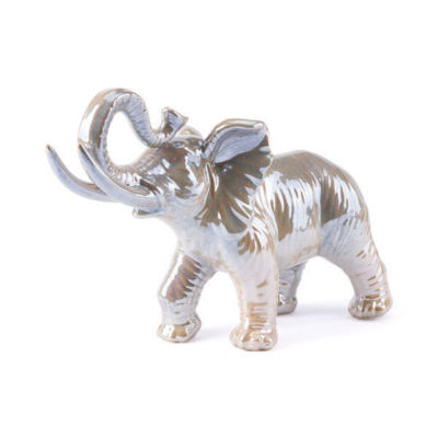 Pearl Elephant Figurine