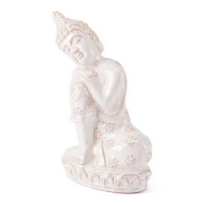 Resting Buddha Figurine