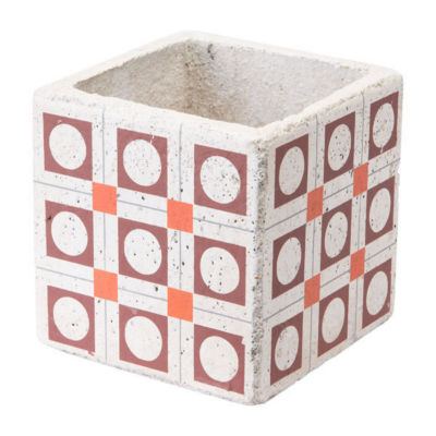 Cement Squares Planter