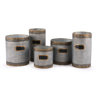 Latitas 5-pc. Planter Set