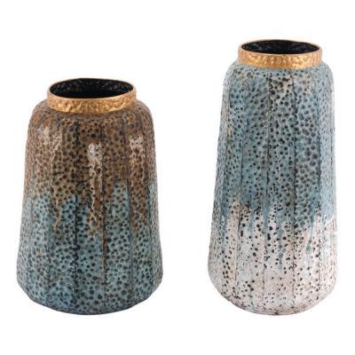 Antique 2-pc. Vase Set