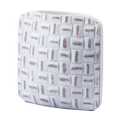 Mosaic Square Vase