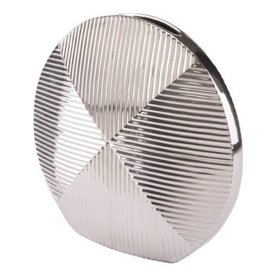 Round Disc Vase