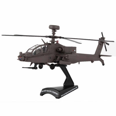 Daron Postage Stamp Die Cast Ah64D Apache Long BowUs Army Helicopter Kit