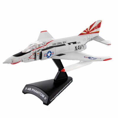 Daron Worldwide Trading Postage Stamp F-4B PhantomIi Sundowners 1/155 Scale Model Kit