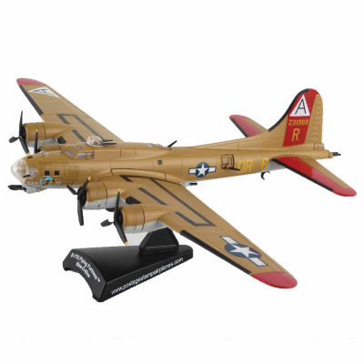 "Daron Worldwide Trading Stamp B-17G Flying Fortress ""Nine-O-Nine"" Jet Model Kit"""