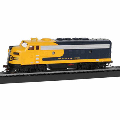 Bachmann Trains Santa Fe War Chief Ready To Run HoScale Electric Train Set