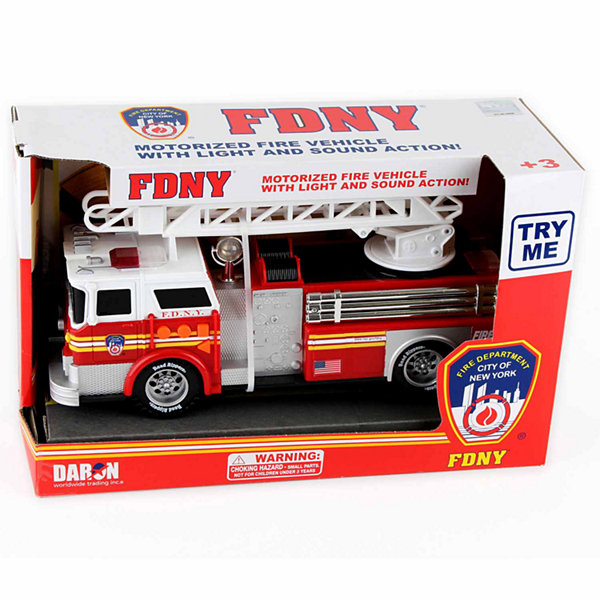 Daron Fire Department City Of New York Motorized Fire Truck With Ladder (Fdny)