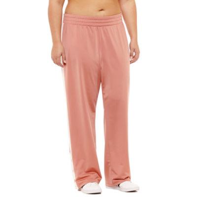 Flirtitude Tricot Track Pants-Juniors Plus