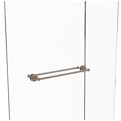 Allied Brass Waverly Place Collection 24 Inch Towel Bar With Integrated Hooks