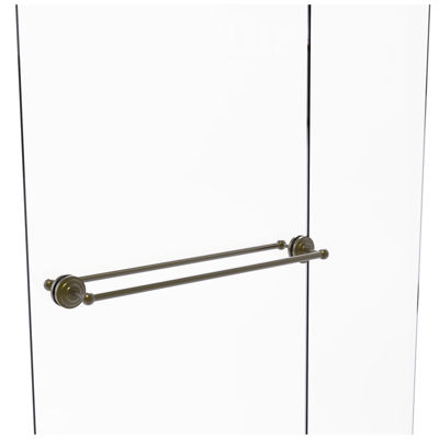 Allied Brass Shadwell Collection 36 Inch Towel BarWith Integrated Hooks