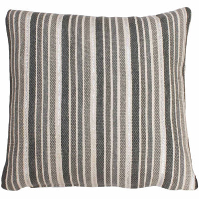Thro by Marlo Lorenz Susana Stripe Foil Printed Throw Pillow