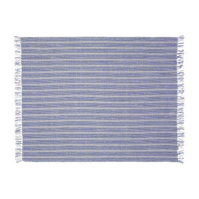 Dotted Striped Throw Blanket
