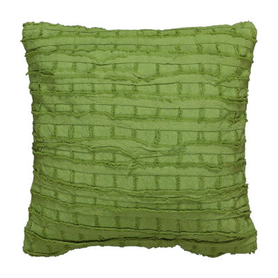 Lita Checkered Crepe Throw Pillow