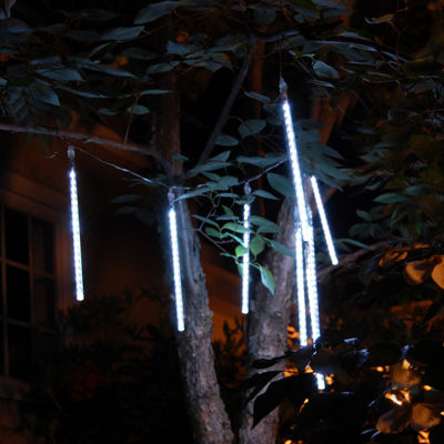 Electric Meteor Lights- Rainfall 8 Tube Lights (144 Total Lights)